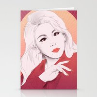 2ne1 Stationery Cards featuring HELLO BTCHZ by Das The Creator