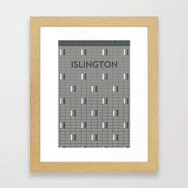 ISLINGTON | Subway Station Framed Art Print