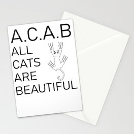 Cats Meow pun Funny Sweet Meme Gift Stationery Cards