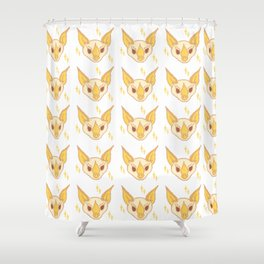 Ectophylla alba Shower Curtain
