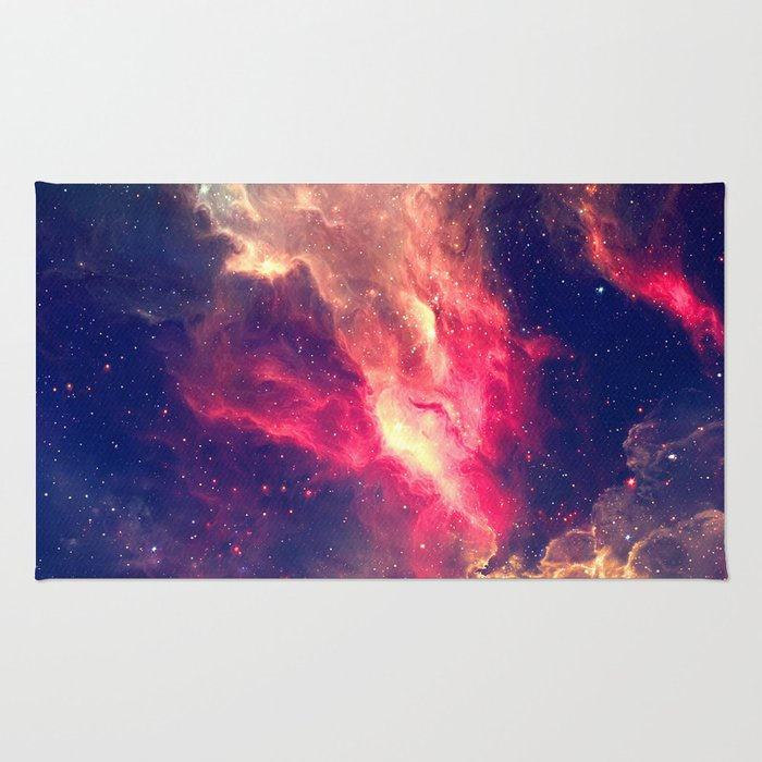 The Sky is on Fire Rug