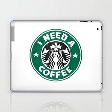 I need a coffee! Laptop & iPad Skin