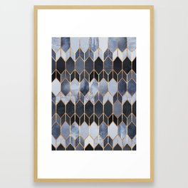 Stained Glass 4 Framed Art Print