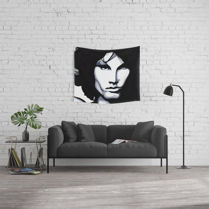 The Lizard King Wall Tapestry