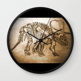 tri.cera.tops Wall Clock