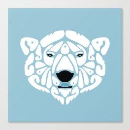 An Béar Bán (The White Bear) Canvas Print