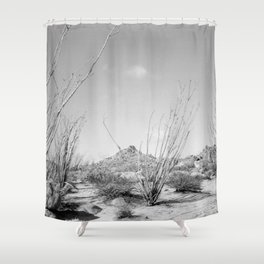 California Ocotillo Shower Curtain