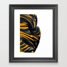 Reflective Lines Framed Art Print