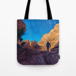Hiking Girl II Tote Bag