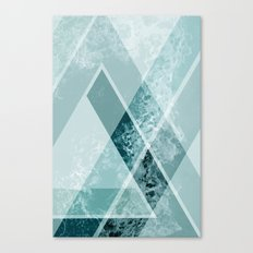 Modern Geometric Abstract Canvas Print
