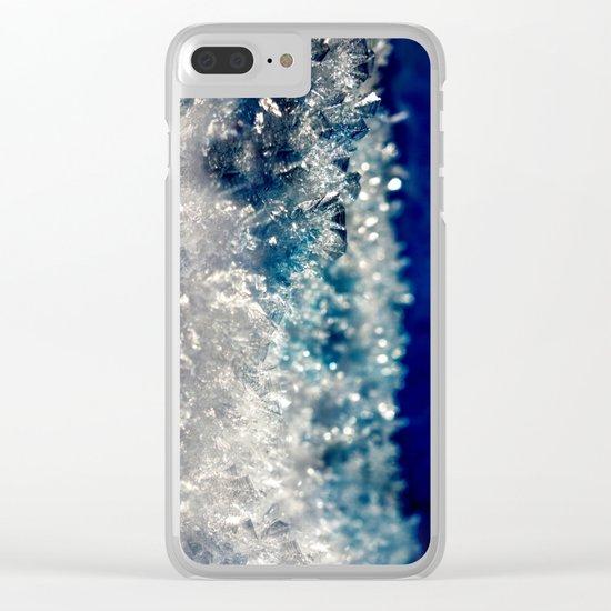 Frozen Beauty Clear iPhone Case