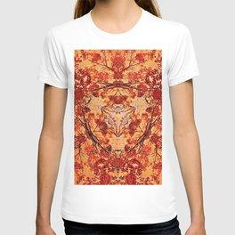 Red Flora T-shirt