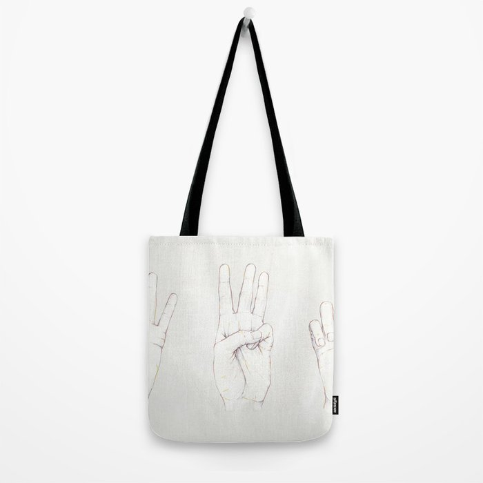 Three Threes Tote Bag