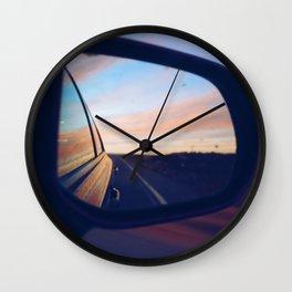 Road trips Wall Clock