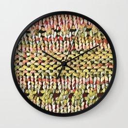 Pink Shawl Wall Clock