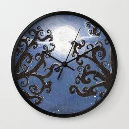 Full Moon Fantasy Wall Clock