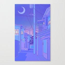 Japanese Night Canvas Print