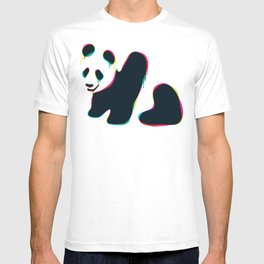 Composite panda T-shirt