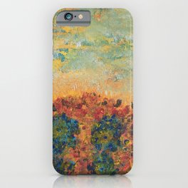 Flowers of Provence iPhone Case