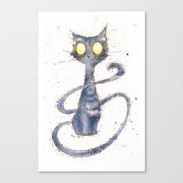 Licorice Canvas Print