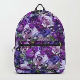 Romantic flowers III Backpack
