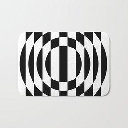Hot Spot || Black & White Bath Mat