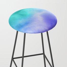 Blue Abstract Sky Bar Stool