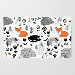Woodland Nap Time Rug
