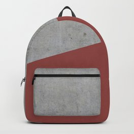 Concrete with Chili Oil Color Backpack