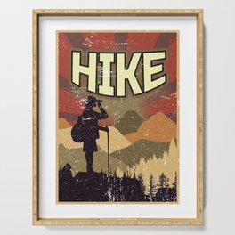 Hike Propaganda | Hiking Nature Outdoor Camping Serving Tray