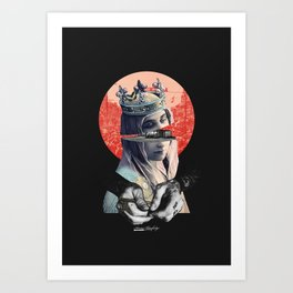 do you know where is my key? Art Print