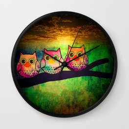 owl-193 Wall Clock
