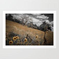 Nebraska Art Print
