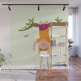 Positively Girly - tree Wall Mural