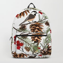 Winter Theme Backpack
