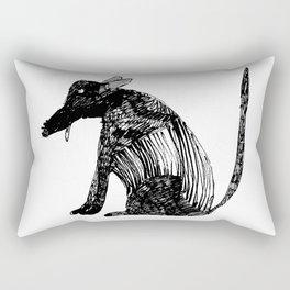 doggy biggy Rectangular Pillow