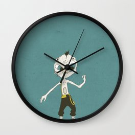 Monkey Buisness Wall Clock