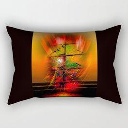 Sailing romance Rectangular Pillow