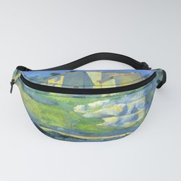 """Paul Cezanne """"Houses in Provence - The Riaux Valley near L'Estaque"""" Fanny Pack"""