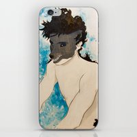 beast iPhone & iPod Skins featuring Beast by Cat Rocketship