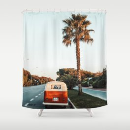 Summer Road Trip Shower Curtain