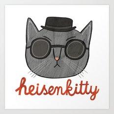 Heisenkitty Art Print