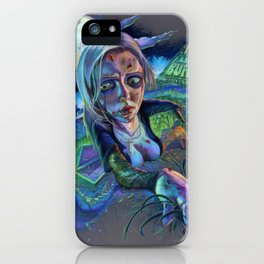 Night of the Living Buffy iPhone Case