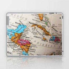Map Art Laptop & iPad Skin