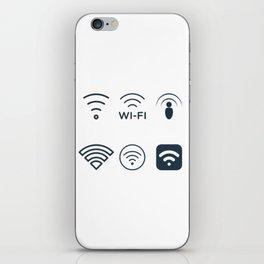 Wifi Signals iPhone Skin
