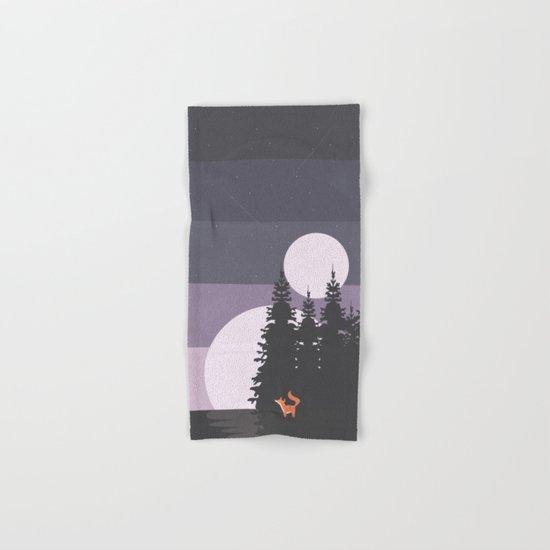 Two Moon Night Hand & Bath Towel