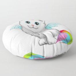 Cat unicorn Floor Pillow