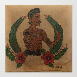Fighting Irish Knuckle Boxing Champion Canvas Print
