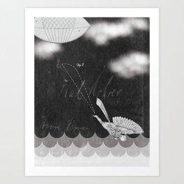 Balloonman Art Print