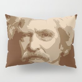 Mark Twain Pillow Sham